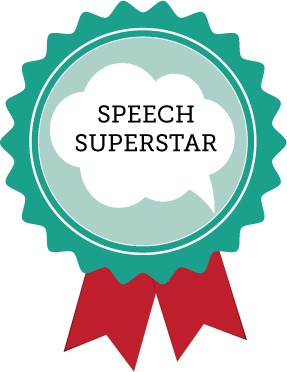 You've earned a speech badge